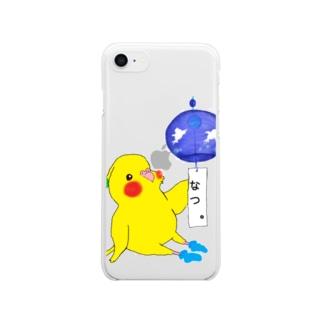 風鈴おかめちゃん。 Clear smartphone cases