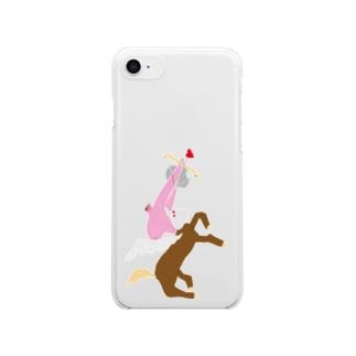秘密 Clear smartphone cases