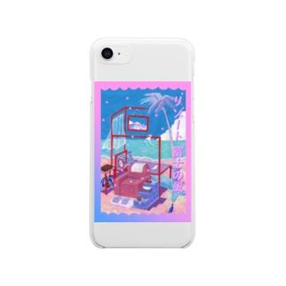 リゾート富士の風♪ Clear smartphone cases