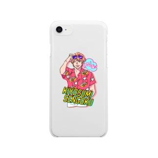 千石清純 Clear smartphone cases
