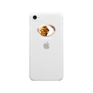 カレーライス Clear smartphone cases