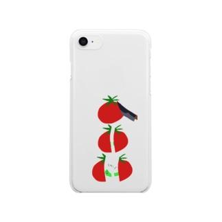 むしむしバイバイ Clear smartphone cases