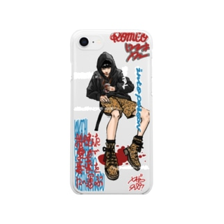 Romeo Clear smartphone cases