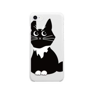 そぼろだよ Clear smartphone cases