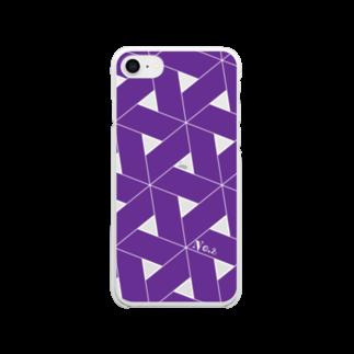 ひつじのNo.2クリアスマホケース Clear smartphone cases