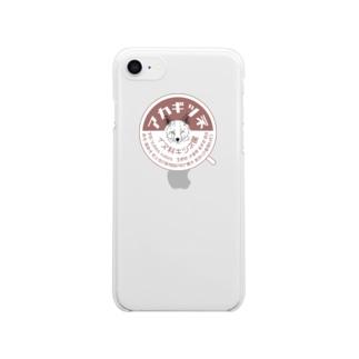 アカギツネくん Clear smartphone cases