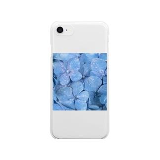 日本三景のある橋 Clear smartphone cases