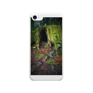 What do you see? Clear smartphone cases
