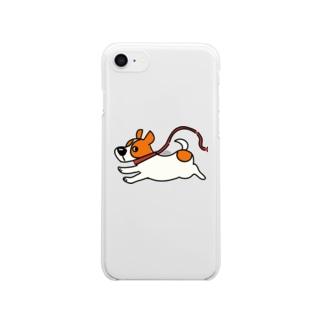 散歩 Clear smartphone cases
