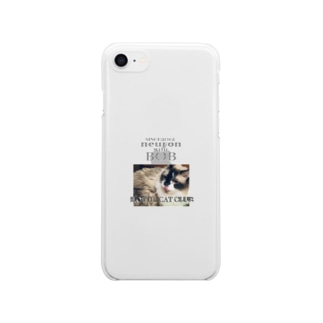 HOTTIE CAT CLUB 〜BOB〜 Clear smartphone cases