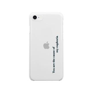 Euphoria clear Iphone case Clear smartphone cases