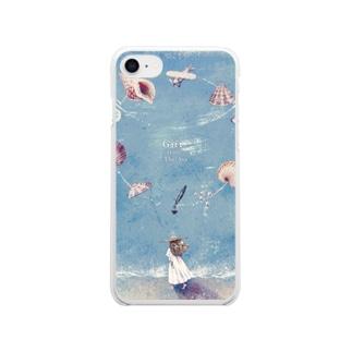 海からの贈り物 Clear smartphone cases