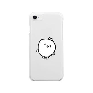 だいこん… Clear smartphone cases