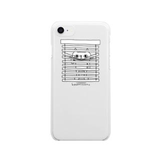 ブラインド iPhoneケース Clear smartphone cases
