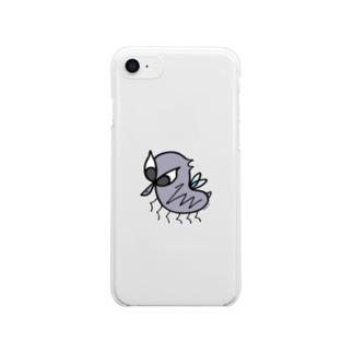 悪運のハエ Clear smartphone cases
