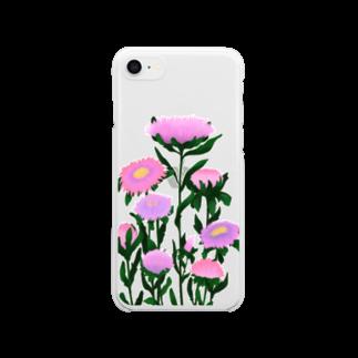 琉璃色クリエイトの甘い夢 Clear smartphone cases