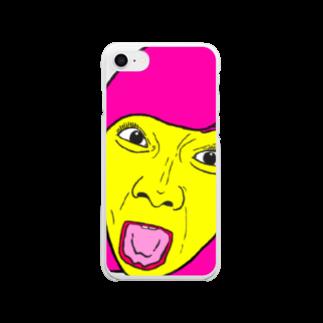 KAOのなちやさん Clear smartphone cases