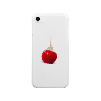 kirin.boutiqueのりんご飴🍎(やんちゃ) Clear smartphone cases