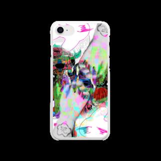 ほにほにわーるどうぉーの絶望 Clear smartphone cases