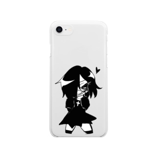 ゾンビガール(エンリ) Clear smartphone cases