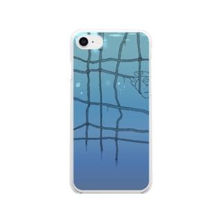 深層心理 Clear smartphone cases