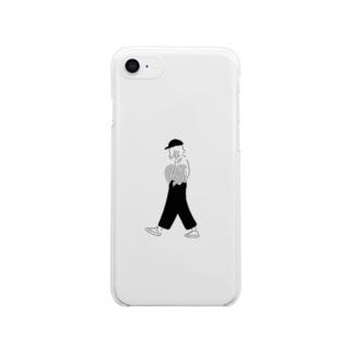 【新作】boyish girl Clear smartphone cases