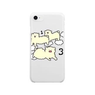 ひつじ雲 Clear Smartphone Case