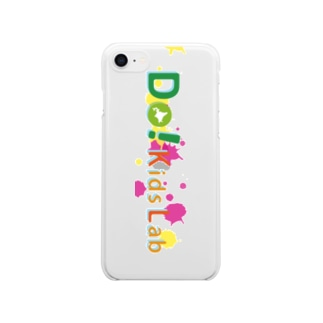 Do! Kids Lab公式 キッズプログラマー iPhoneケース Clear smartphone cases