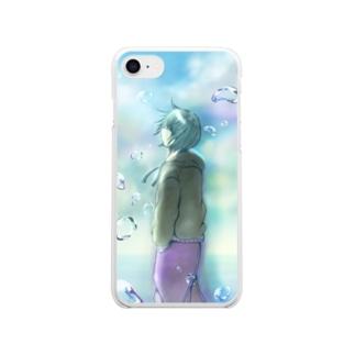 水滴 Clear smartphone cases