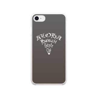 Aloha Popper Clear smartphone cases