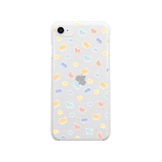 アニマルズ Clear smartphone cases