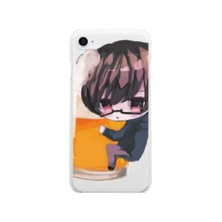 ふじりょ Clear Smartphone Case