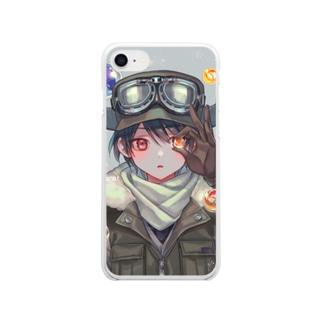 ガラスの惑星 Clear smartphone cases