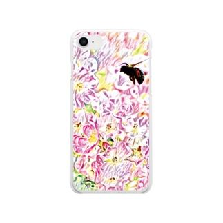 プリマヴェーラ Clear smartphone cases