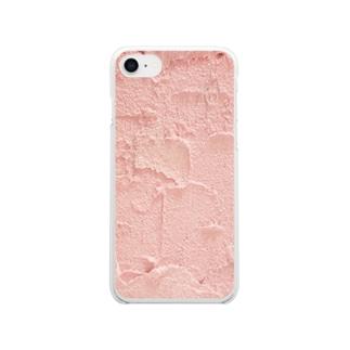 ピンキーサンド Clear smartphone cases