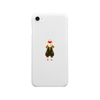 Carnival‼︎(Bear) Clear smartphone cases