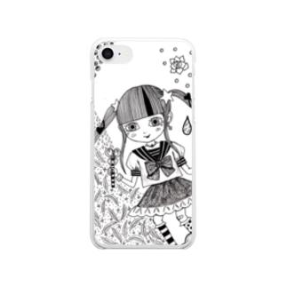 sachi☆chocoのとくべつ強くなりたい! Clear smartphone cases