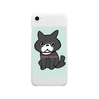mameyaのpetite mame 2 Clear smartphone cases
