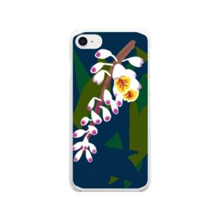 月桃 Clear smartphone cases