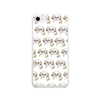 えるさ Clear smartphone cases