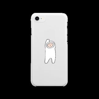 ミーゴレンちゃんのもち人間 Clear smartphone cases