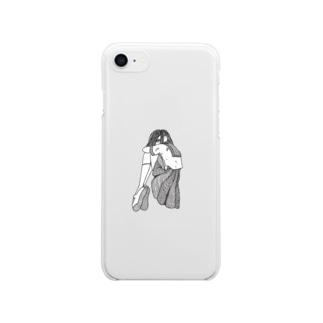 上履き Clear smartphone cases