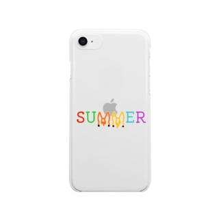 SUMMER Clear Smartphone Case