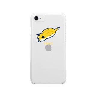 つちのこ Clear smartphone cases