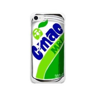 C-MAC缶 Clear Smartphone Case