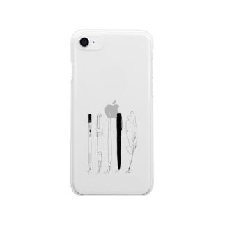 tanka/pens Clear smartphone cases