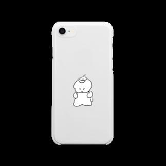 ワヌ山のお散歩ワヌちゃん Clear smartphone cases
