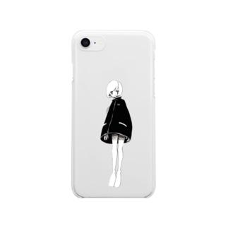 あのこ Clear smartphone cases