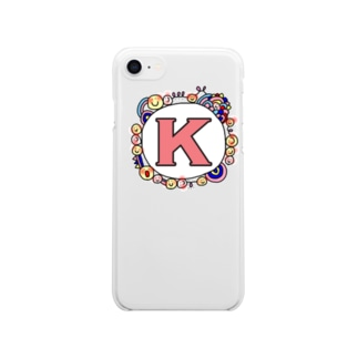 K Clear smartphone cases