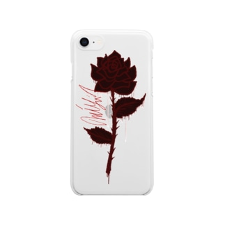 自律 Clear smartphone cases